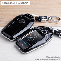Carbon fiber ABS Key Case Cover Fully Key Shell Remote