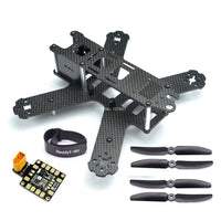 Mini QAV210 210mm 210 Pure Carbon Fiber Quadcopter Frame Kit