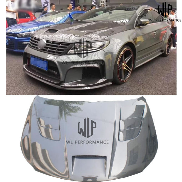Free Shipping High Quality Carbon Fiber Engine Hood Bonnets