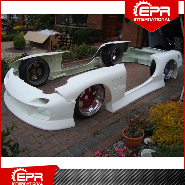 For RX7 FD 1993-1997 BN Blister Glass Fiber Full Body Kit