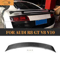 Carbon Fiber Rear Trunk Wing Spoiler for Audi R8 GT V8 V10