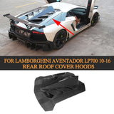 Carbon Fiber Rear Roof Cover Hoods Sunroof Tardtop Case for