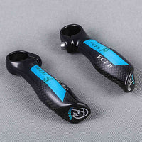 FCFB 3K Glossy Carbon Fiber Bar End MTB Mountain Bike Small