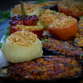 Eggplant - gets Stuffed!