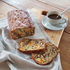 Banana Loaf with Apricots and Walnuts (orders 3 days in advance)