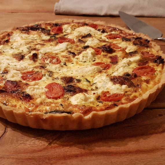 Mediterranean Quiche (orders 3 days in advance)