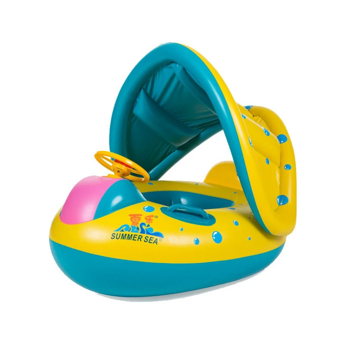 Infant inflatable swimmer