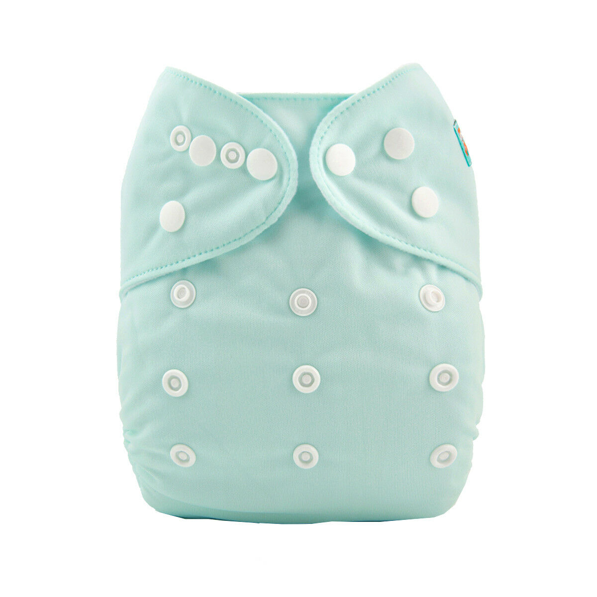 Alva Baby Solid Mint Modern Cloth Nappy