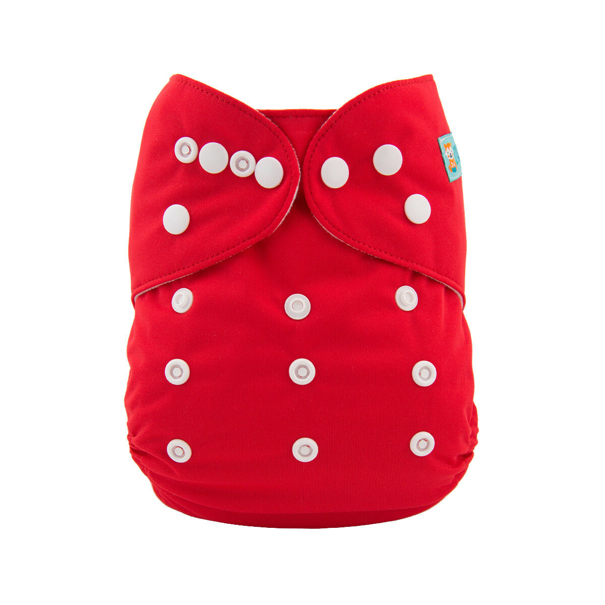 Alva Baby Solid Candy Apple Red Modern Cloth Nappy
