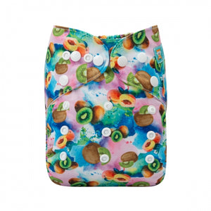 Alva Baby Tropical Fruit Punch Print Modern Cloth Nappy