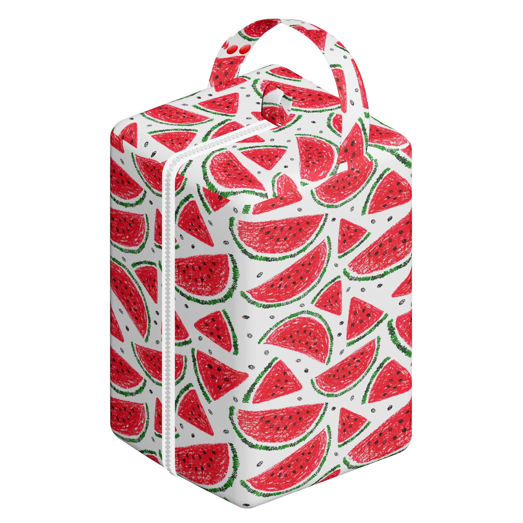 Nappy Box Co Watermelons Print Nappy Pod Zip Wet Bag