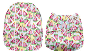 Mama Koala Watermelon Popsicles Print Modern Cloth Nappy