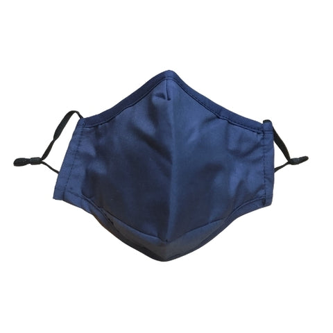 Nappy Box Co Navy Reusable & Washable 3 Layer Fabric Face Mask PM2.5