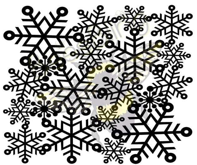 Snowflake Lace Tooled Pattern