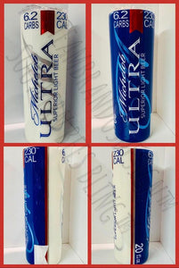 MICHELOB DECALS CUT FOR TUMBLER