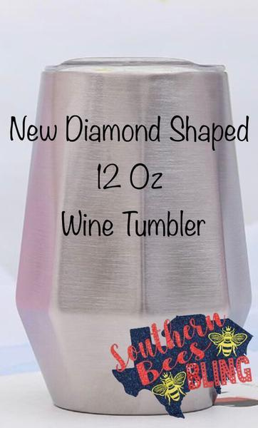12oz Diamond Wine