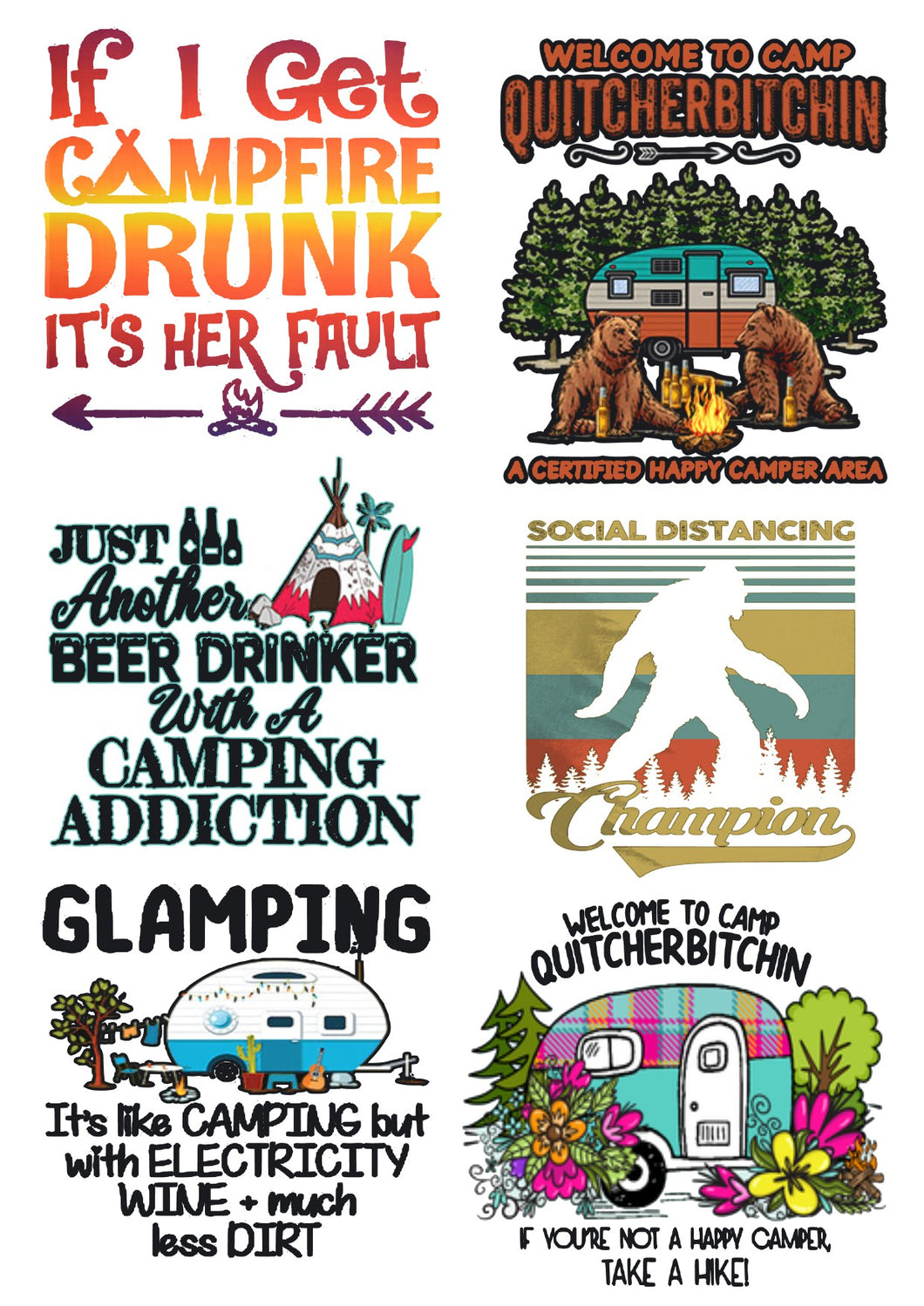 ADULT CAMPING QUOTES Waterslide images