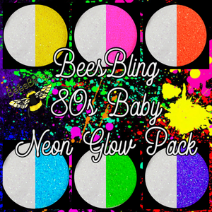 80's Baby Neon Glow In The Dark THEME PACK