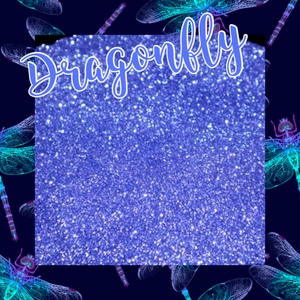 Dragonfly (Periwinkle blue/purple)
