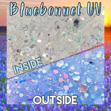 Load image into Gallery viewer, BLUEBONNET- UV- CHUNKY white to blue!