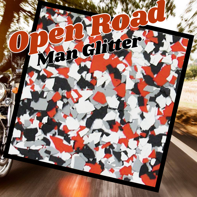 Open Road - man glitter