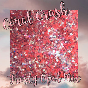 Coral Crush Opalescent Mix