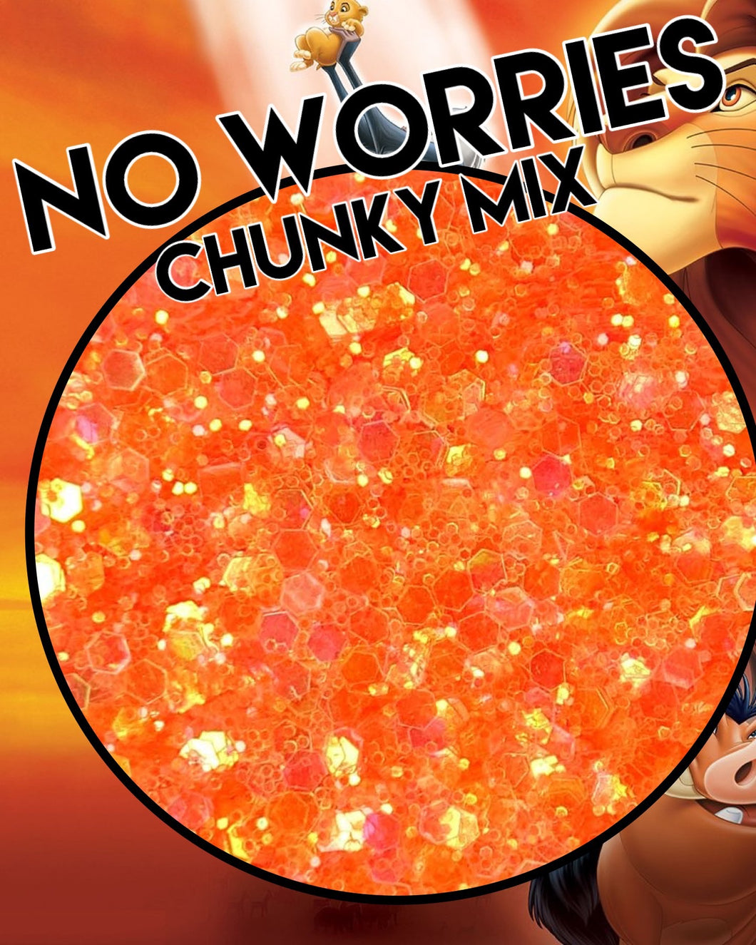 No Worries Chunky Mix
