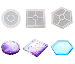 3 pack COASTER MOLD