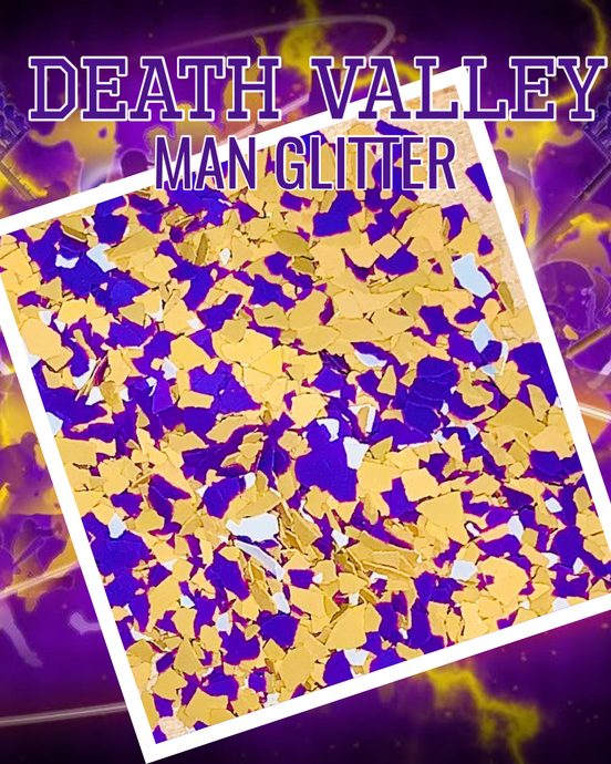 DEATH VALLEY- man glitter