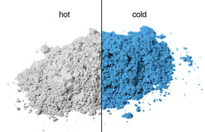 GROUCHY White-blue thermal pigment
