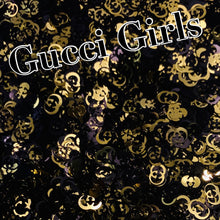 Load image into Gallery viewer, Gucci Girls gold/black