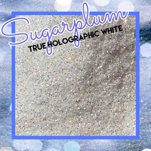 Load image into Gallery viewer, SUGAR PLUM True Holographic white extra fine