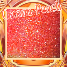 Load image into Gallery viewer, CROWN PEACH Extra Fine/fine Poly Glitter