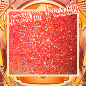 CROWN PEACH Extra Fine/fine Poly Glitter