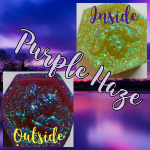Purple Haze Sun/UV Color Changing extra fine poly glitter jar