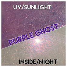 Load image into Gallery viewer, Purple Ghost UV- white/purple