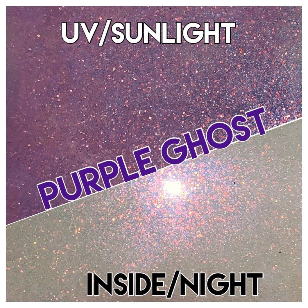 Purple Ghost UV- white/purple