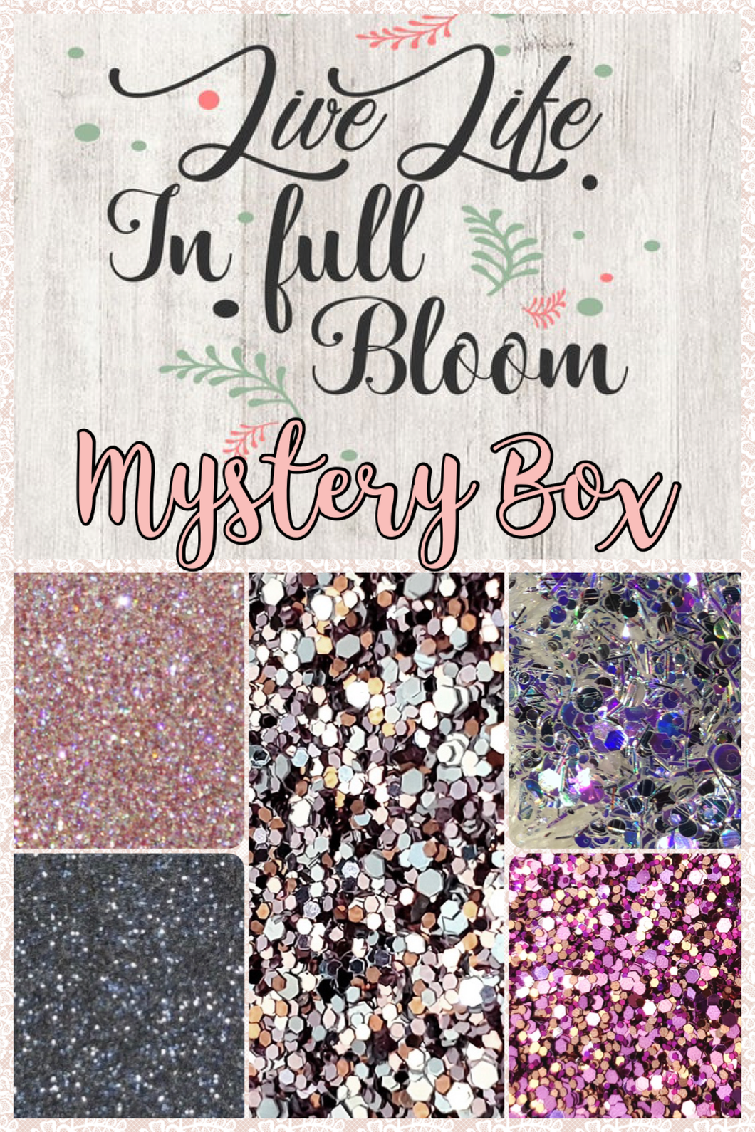 LIVE LIFE IN FULL BLOOM MYSTERY BOX! (MAY)