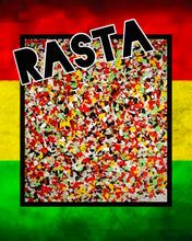 Load image into Gallery viewer, RASTA - man glitter