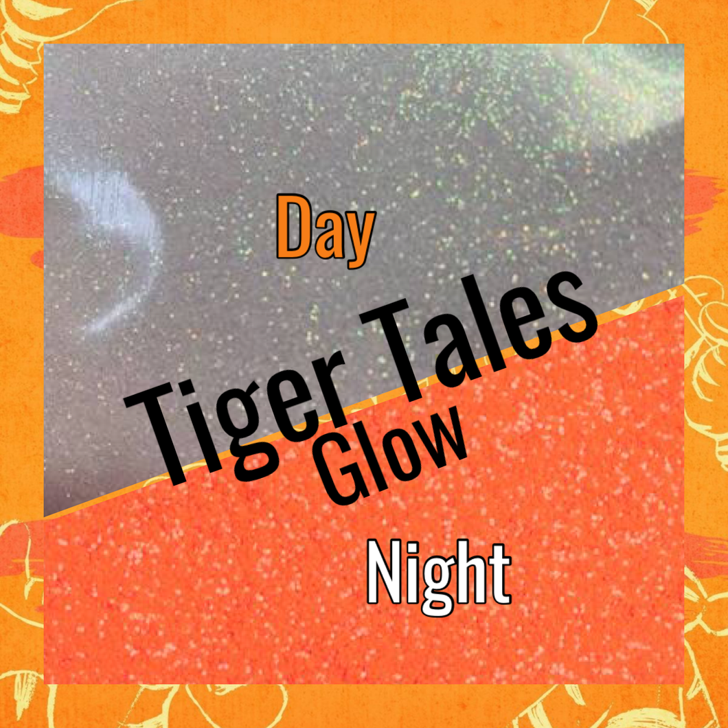 TIGGER TALES orange neutral glow