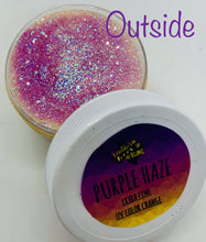 Load image into Gallery viewer, Purple Haze Sun/UV Color Changing extra fine poly glitter jar