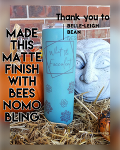 """Bees NoMo Bling"" Liquid Matte Finish"