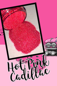 Hot Pink Cadillac Extra Fine Poly Glitter