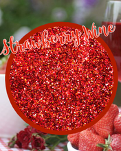 Load image into Gallery viewer, STRAWBERRY WINE Extra fine/fine Holographic
