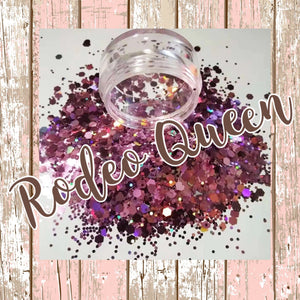Rodeo Queen Chunky Mix Poly Glitter