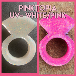 PINKTOPIA UV- white to pink
