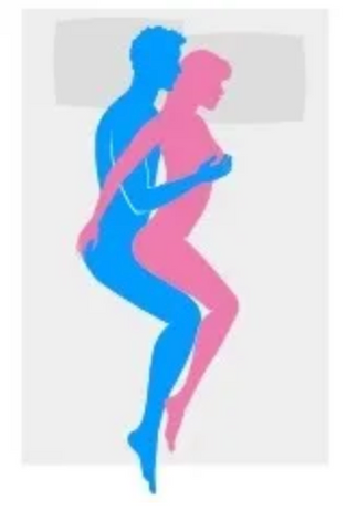 Anal Spoon Sex Position