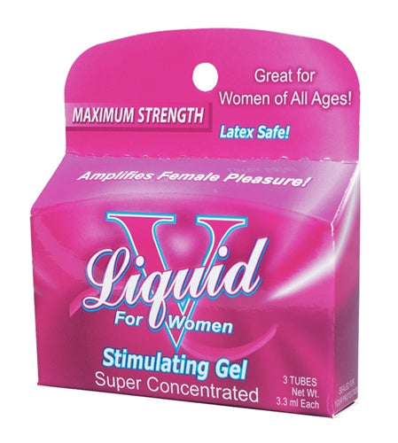 Liquid v Box for Women 3 Tube Box - Adultys.com