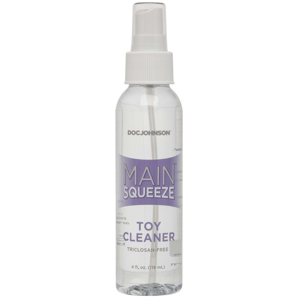 Main Squeeze - Toy Cleaner - 4 Fl. Oz.. - Adultys.com