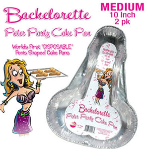 Peter Party Cake Pan 2 Pack - Medium - Adultys.com